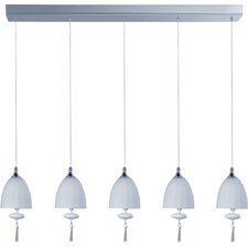Chute 5 Light Linear Pendant