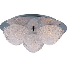 Blossom 3-Light Flush Mount