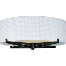 Elements 3-Light Flush Mount