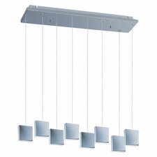 Brick 8 Light Kitchen Pendant Lighting