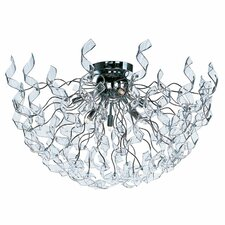 Zest 6 Light Flush Mount