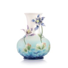 Joyful Smile Columbine Vase