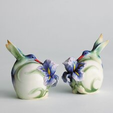 Long Tail Hummingbird Salt and Pepper Shaker (Set of 2)