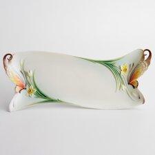 """Papillon Butterfly 14"""" Platter"""