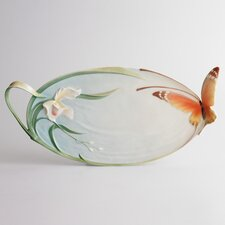 "<strong>Franz Collection</strong> Papillon Butterfly 16.75"" Platter"