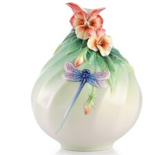 Sweet Smile Pansy Vase