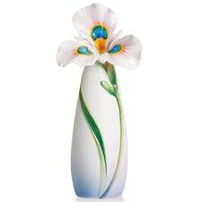Peacock Iris Vase