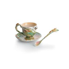 <strong>Franz Collection</strong> Swan Lake Swan Porcelain Teaspoon
