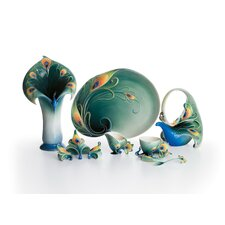 Peacock Splendor Porcelain Collection