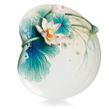 "Peaceful Lotus 8.75"" Dessert Plate"