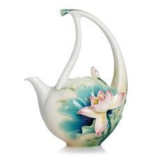 <strong>Franz Collection</strong> Peaceful Lotus Teapot