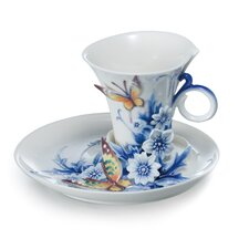 Eternal Love Porcelain Tea Cup Set
