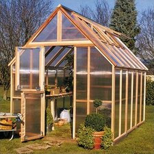 Mt. Rainier 10' H x 8.0' W x 12.0' D Polycarbonate 4.5 mm GardenHouse
