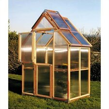 "Mt. Hood 8' 4"" H x 6.0' W x 4.0' D Polycarbonate 4.5 mm GardenHouse"