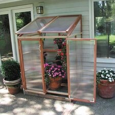 Patio GardenHouse 4' x 3' Polycarbonate Lean-To Greenhouse