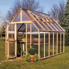 "Mt. Hood 8' 4"" H x 6.0' W x 12.0' D Polycarbonate 4.5 mm GardenHouse"