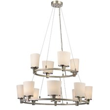 Ellipse 12 Light Chandelier