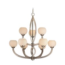<strong>Dolan Designs</strong> Odyssey 9 Light Chandelier