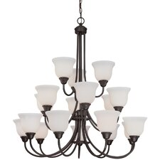 <strong>Dolan Designs</strong> Willow Point 18 Light Chandelier