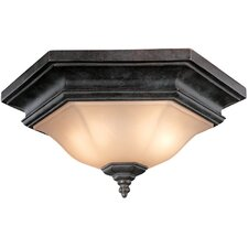 Winston 2 Light Flush Mount