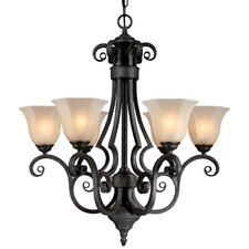 Winston 6 Light Chandelier