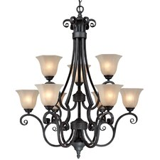 Winston 9 Light Chandelier