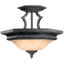 Winston 2 Light Semi Flush Mount