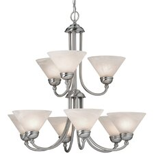 Vinton 9 Light Chandelier