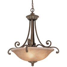 Windsor 5 Light Inverted Pendant