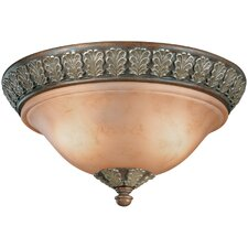 <strong>Dolan Designs</strong> Windsor 2 Light Flush Mount