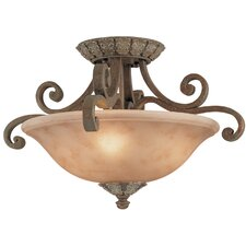 <strong>Dolan Designs</strong> Windsor 4 Light Semi Flush Mount