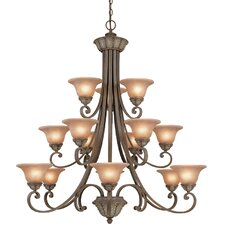 <strong>Dolan Designs</strong> Windsor 15 Light Chandelier