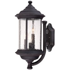 <strong>Dolan Designs</strong> Walnut Grove 3 Light Outdoor Wall Lantern