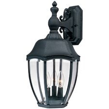 <strong>Dolan Designs</strong> Roseville 3 Light Outdoor Wall Lantern