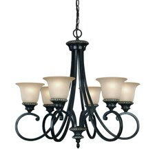 Hastings 6 Light Chandelier