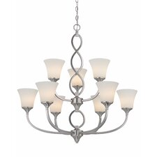 <strong>Dolan Designs</strong> Infini 9 Light Chandelier