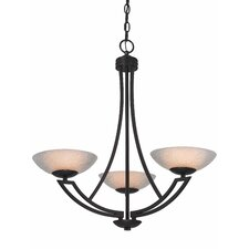 Delany 3 Light Chandelier