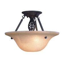 <strong>Dolan Designs</strong> Atlantis 2 Light Semi Flush Mount