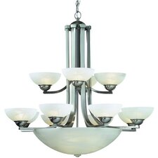 Fireside 15 Light Bowl Chandelier