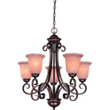 Medici 5 Light Up Chandelier