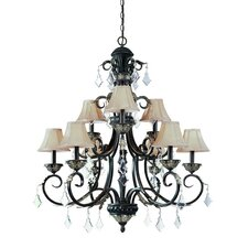 <strong>Dolan Designs</strong> Florence 9 Light Chandelier