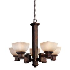 <strong>Dolan Designs</strong> Belltown 5 Light Chandelier