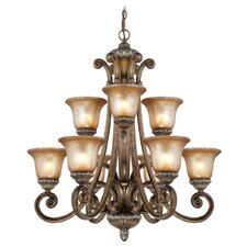 Carlyle 9 Light Chandelier