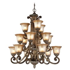 Carlyle 15 Light Chandelier