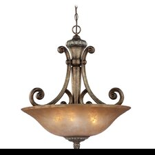 Carlyle 3 Light Inverted Pendant