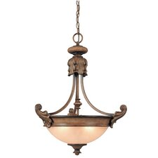 Fairview 3 Light Inverted Pendant