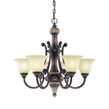 <strong>Dolan Designs</strong> Bonita 6 Light Chandelier