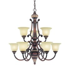 Bonita 9 Light Chandelier
