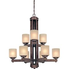 <strong>Dolan Designs</strong> Sherwood 9 Light Chandelier