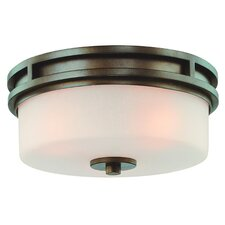 Multnomah 3 Light Flush Mount